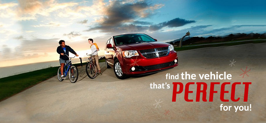 Find the vehicle that is Perfect for you